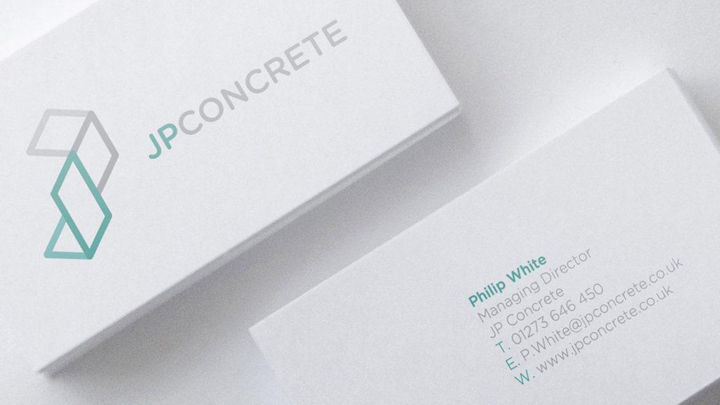 JP Concrete business cards