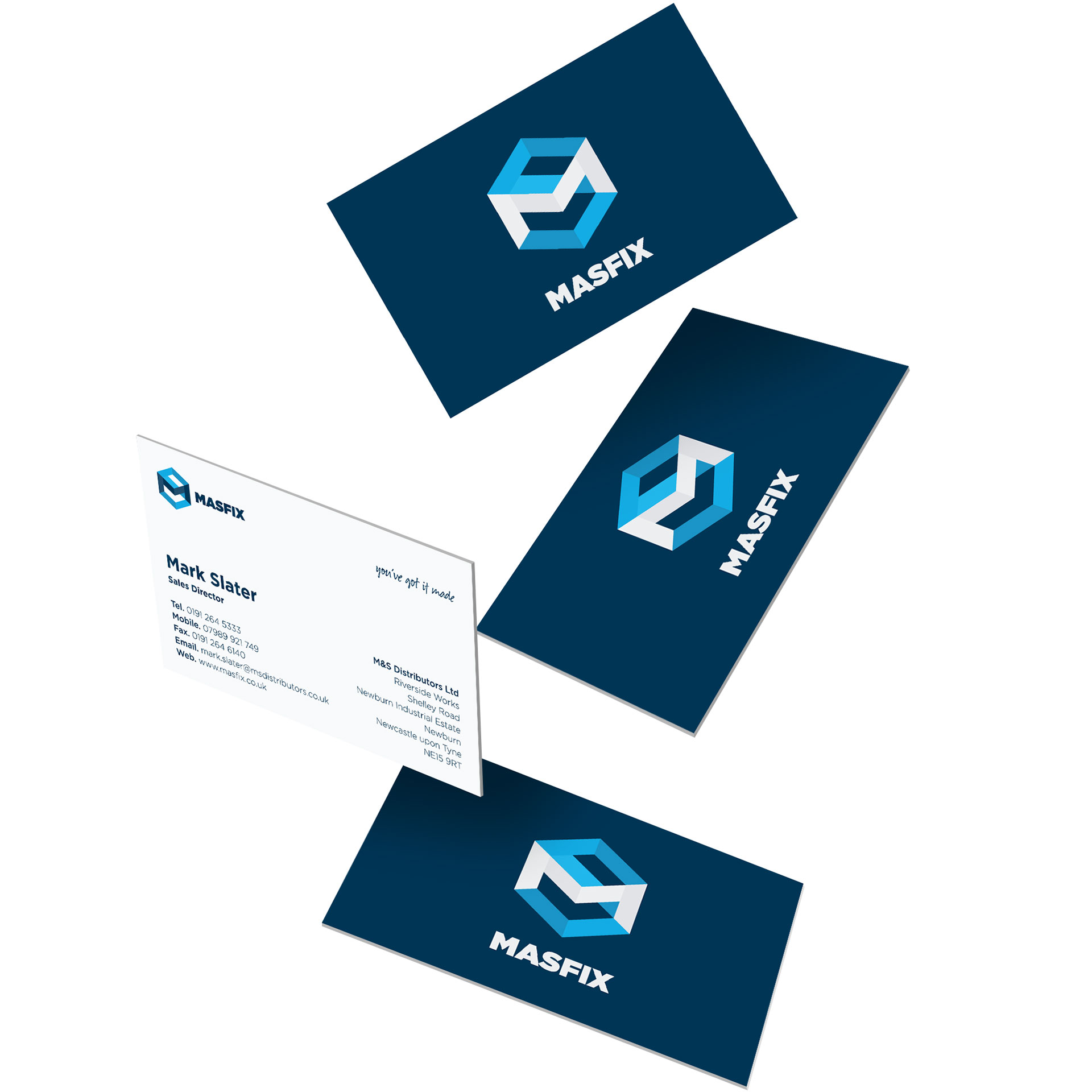 MasFix business cards